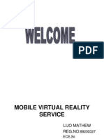 Mobile Virtual Reality Service Mm