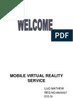 Mobile Virtual Reality Service Mm