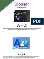 Scanservice Glossar A - Z