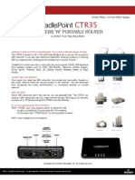 Cradle Point CTR35 Datasheet