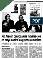 20030312 DAA RioAragon Mani