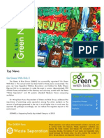 The Green&Blue Newsletter Vol.1