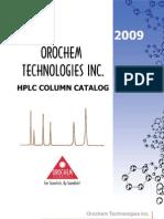 HPLC Catalog 2009
