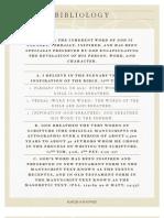 Bibliology PDF