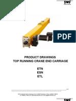 Drawings SWF Top Running End Carriages ETN-ESN-ETL ENG