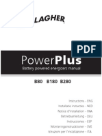 3E0724 PowerPlus Battery B80 B180 B280 Energizer Manual (EU) R6 1