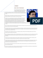 Biography of Mukesh Ambani