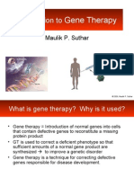 23402863 Lecture1 Introduction to Gene Therapy