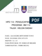 HPD 112  KELDAI DADAH