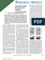 Endoplasmic ReticulumStress Links