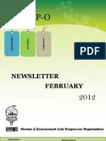 HELP-O February Newsletter