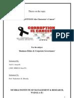 Corruption Thesis