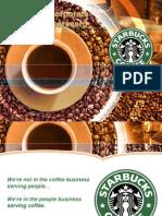 Starbucks Corporate Level BSC Student Example