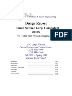 Design Report Small Surface MSC