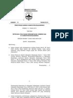 Peraturan Daerah Nomor 13 Tahun 2010 Tentang Retribusi Persampahan-Kebersihan
