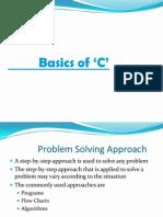 Basics of 'C'