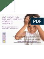 Comportamiento problematico, conductas disruptivas en el aula, TDAH