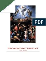 Homilia II Domino de Cuaresma