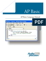AP Basic Language Manual