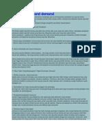 Artikel Supply and Demand