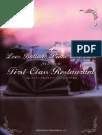 Love Ballads, Piano Collection
