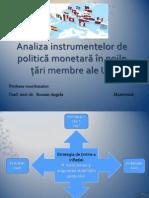 Analiza Instrumentelor de Politica Monetara