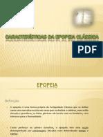 Características da epopeia clássica