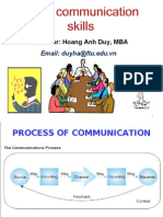 Basic Communication Skills Duy Students