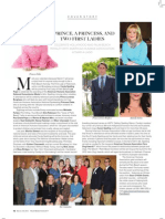 Palm Beach Society Cover Story