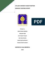 Merapi ACT Report