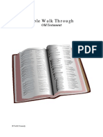 Bible Walk Through - Old Testament