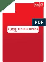RESOLUCIONES_38C PSOE