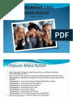 PENGANTAR ILMU KOMUNIKASI-1