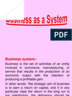 Business as System