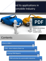 Crm in Automobile Industry