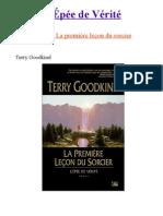 L_'épée.de.vérité-1-La.première.leçon.du.sorcier-Terry.Goodkind-Français
