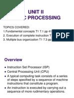 Chapter3 - Basic Processing Unit