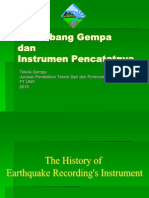 Gelombang Gempa Dan Instrument as in Ya