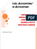 Price Level Accounting