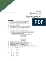 Math Summry