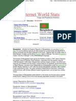 Bangladesh Internet Usage and Telecommunications Reports