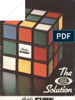 The Ideal Solution - Rubik Rubiks Rubik's Cube - Scanned Book-1981