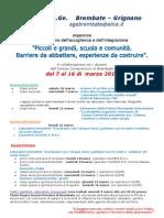 Settimana Integrazione Volantino e Locandina