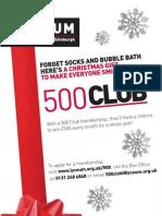 Lyceum 500 Club Info