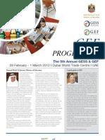 GEF Programme Final