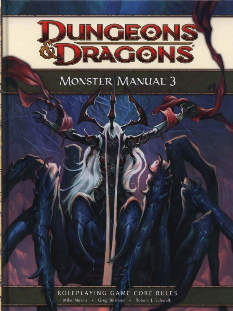 monster manual 3 wizards of the coast d20 system rh scribd com monster manual 3rd pdf monster manual 3