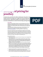 2011 Pricing for Jewellery