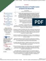 02-03-12 Economistas discuten en Puebla nuevo proyecto de desarrollo
