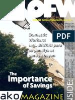 OFW Ako Magazine ONLINE Edition Issue 003