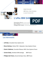 6 - Worshop SAN IBM Cisco 19 Janvier 2012